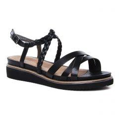 sandales noir: même style de chaussures en ligne pour femmes que les Tamaris