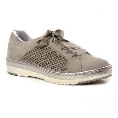 tennis beige taupe: même style de chaussures en ligne pour femmes que les Tamaris