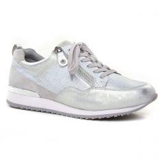 Caprice 23600 Silver : chaussures dans la même tendance femme (tennis gris argent) et disponibles à la vente en ligne