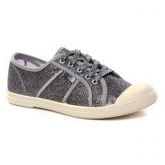 Les Tropéziennes Caprine Argent : chaussures dans la même tendance femme (tennis gris argent) et disponibles à la vente en ligne