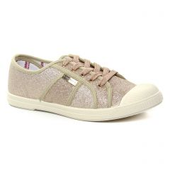 Les Tropéziennes Caprine Or : chaussures dans la même tendance femme (tennis marron doré) et disponibles à la vente en ligne