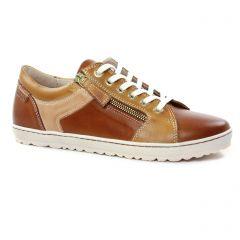 tennis marron: même style de chaussures en ligne pour femmes que les Pikolinos