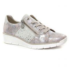 tennis rose métal: même style de chaussures en ligne pour femmes que les Rieker