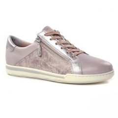 tennis rose métal: même style de chaussures en ligne pour femmes que les Tamaris