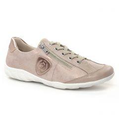 Chaussures femme été 2019 - tennis Remonte rose