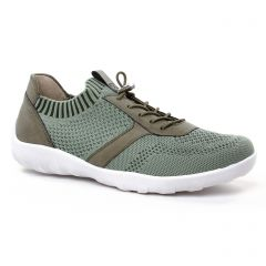 tennis vert: même style de chaussures en ligne pour femmes que les Remonte