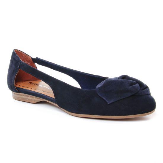 Ballerines Tamaris 22106 Navy, vue principale de la chaussure femme