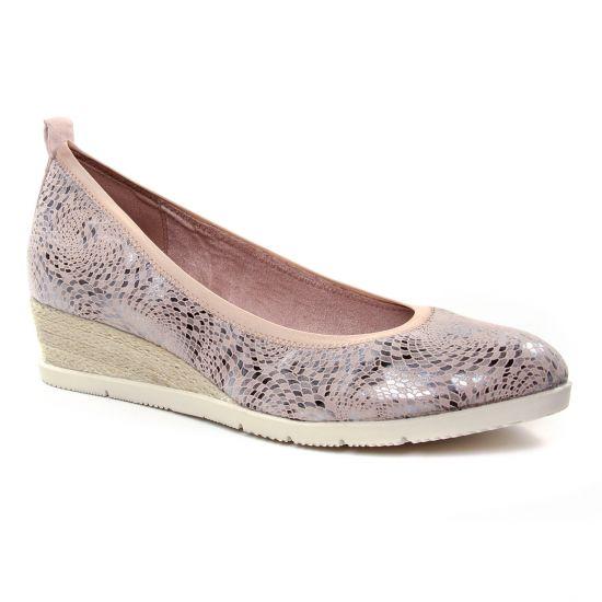 Ballerines Tamaris 22381 Rose, vue principale de la chaussure femme