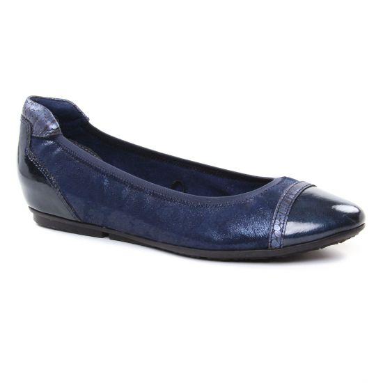 Ballerines Tamaris 22139 Navy, vue principale de la chaussure femme