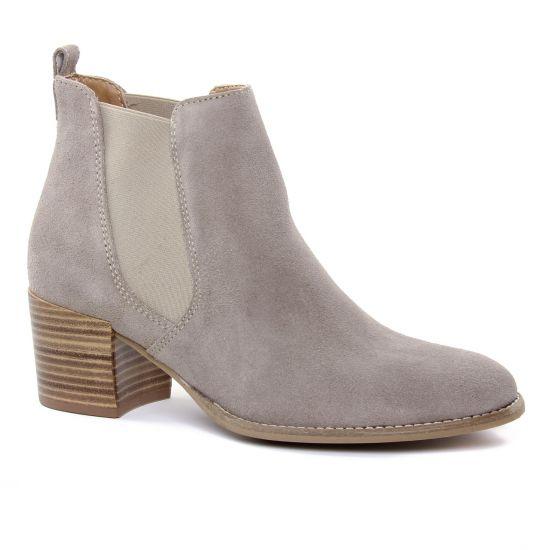Bottines Et Boots Tamaris 25342 Taupe, vue principale de la chaussure femme