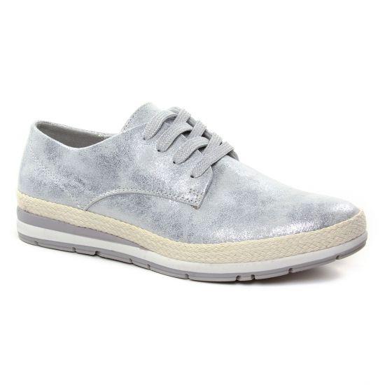 Tennis Et Baskets Mode Marco Tozzi 23610 Grey Metal, vue principale de la chaussure femme