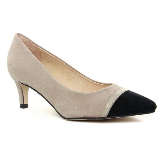 Escarpins Fugitive Petrie Taupe, vue principale de la chaussure femme