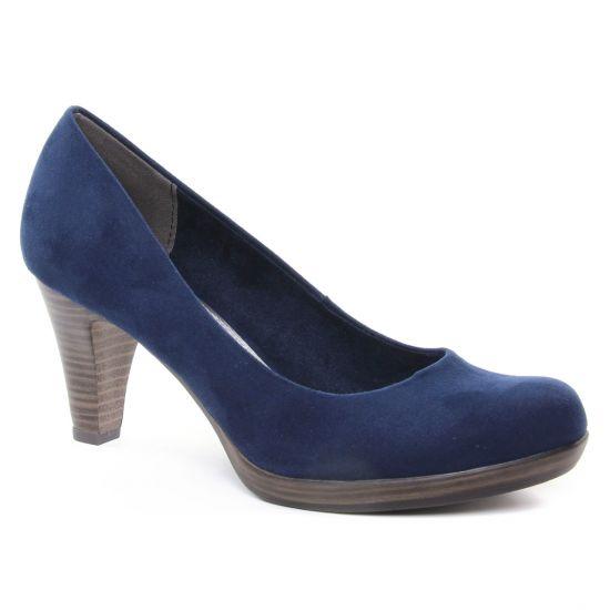 Escarpins Marco Tozzi 22411 Navy, vue principale de la chaussure femme