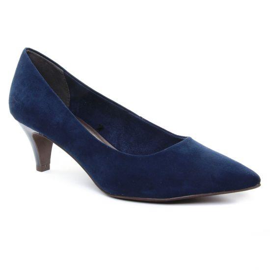 Escarpins Tamaris 22415 Navy, vue principale de la chaussure femme