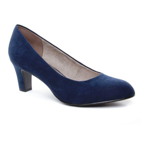 Escarpins Tamaris 22418 Navy, vue principale de la chaussure femme