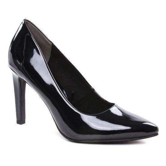 Escarpins Marco Tozzi 22415 Black Patent, vue principale de la chaussure femme