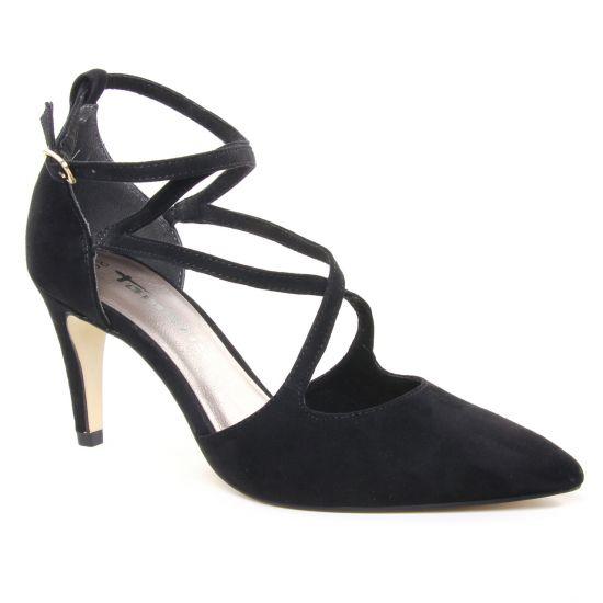 Escarpins Tamaris 24440 Black, vue principale de la chaussure femme