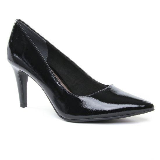 Escarpins Tamaris 22447 Black Patent, vue principale de la chaussure femme