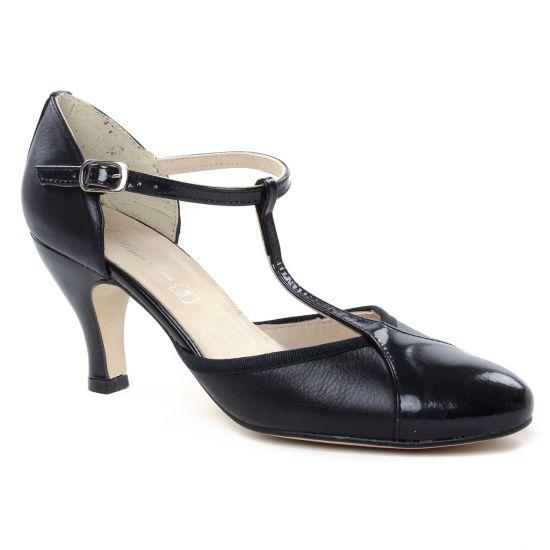 Escarpins Maria Jaen 8129 Noir, vue principale de la chaussure femme