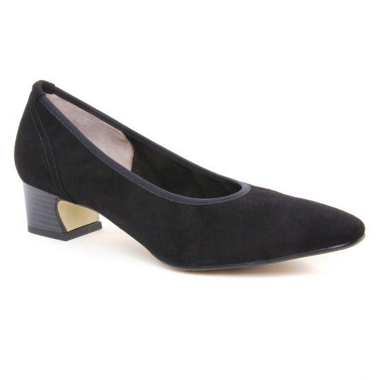 Escarpins Perlato 11129 Noir, vue principale de la chaussure femme