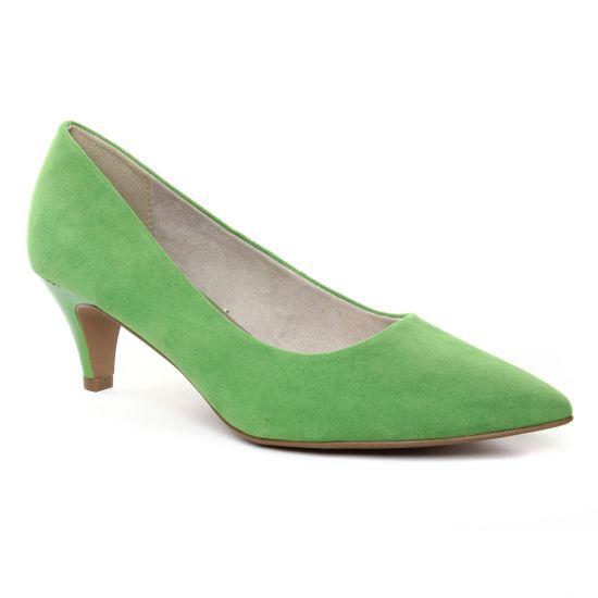 Escarpins Tamaris 22415 Green, vue principale de la chaussure femme