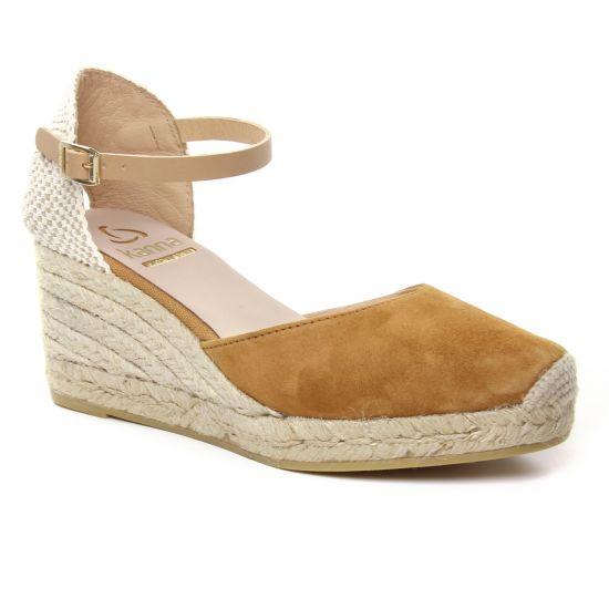 Espadrilles Kanna 9211 Cuerro, vue principale de la chaussure femme