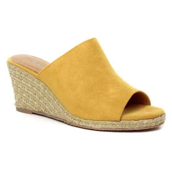 Espadrilles Tamaris 27225 Saffron, vue principale de la chaussure femme