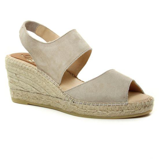 Espadrilles Kanna 5051 Taupe, vue principale de la chaussure femme