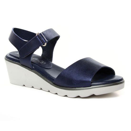 Nu Pieds Et Sandales Maria Jaen 8537 Marine, vue principale de la chaussure femme