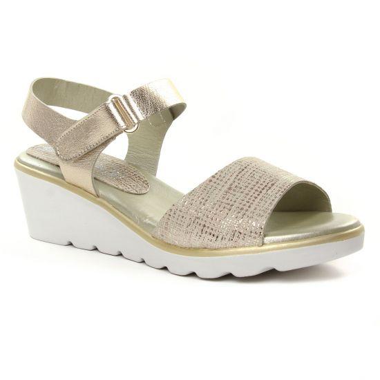 Nu Pieds Et Sandales Maria Jaen 8538 Metal, vue principale de la chaussure femme