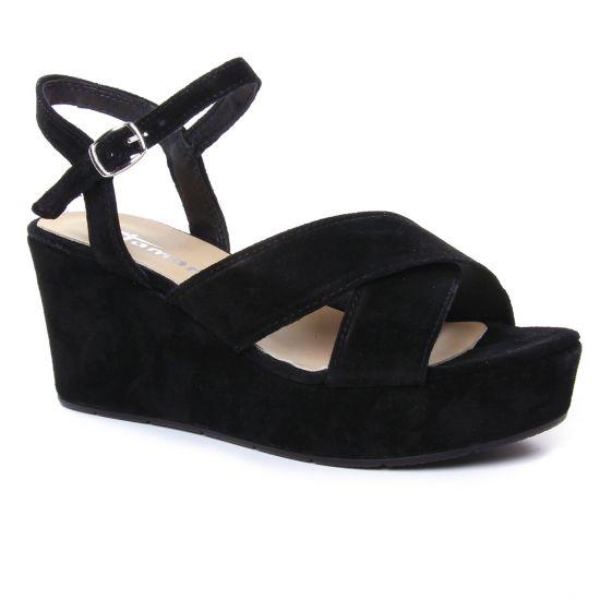 Nu Pieds Et Sandales Tamaris Daiane 28333 Black, vue principale de la chaussure femme