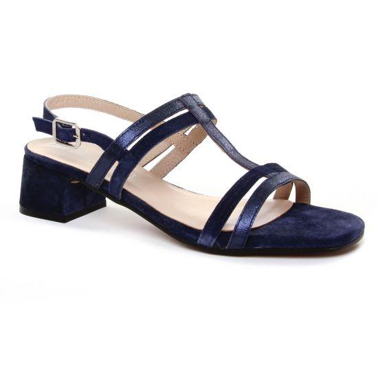 Nu Pieds Et Sandales Maria Jaen 8597 Marine, vue principale de la chaussure femme
