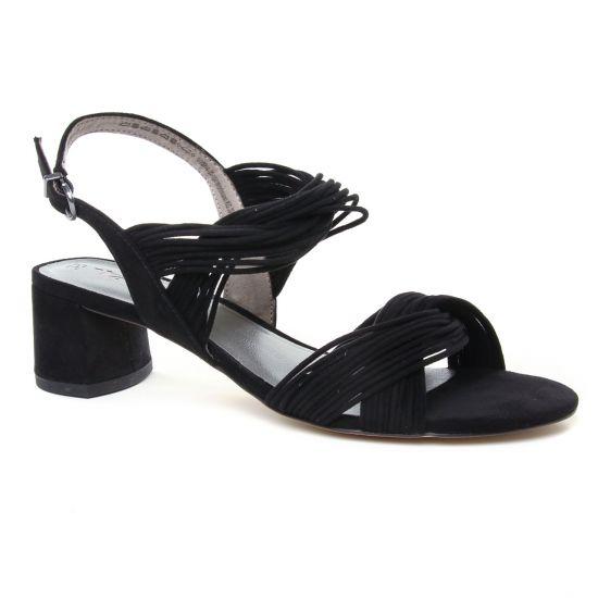 Nu Pieds Et Sandales Tamaris 28204 Black, vue principale de la chaussure femme