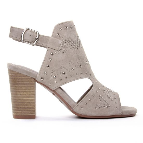 Nu Pieds Et Sandales Carmela 06662 Taupe, vue principale de la chaussure femme