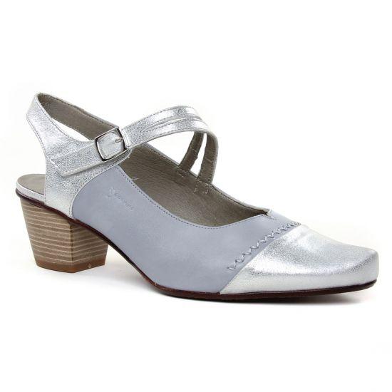 Escarpins Dorking Triana D7747 Perle, vue principale de la chaussure femme