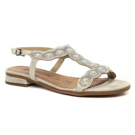 Nu Pieds Et Sandales Remonte R9051-60 Muschel, vue principale de la chaussure femme
