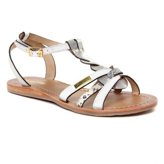 Nu Pieds Et Sandales Les Tropeziennes Hams Blanc Multi, vue principale de la chaussure femme