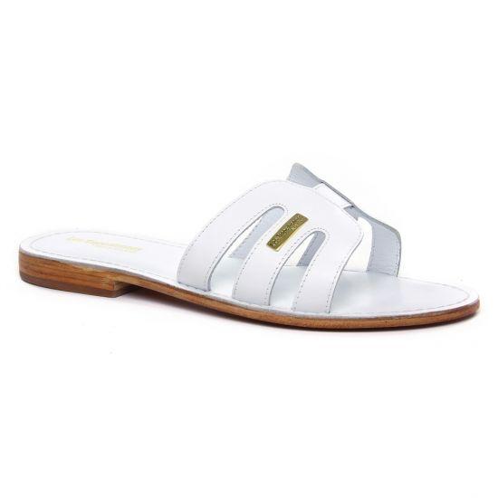 Nu Pieds Et Sandales Les Tropeziennes Damia Blanc, vue principale de la chaussure femme