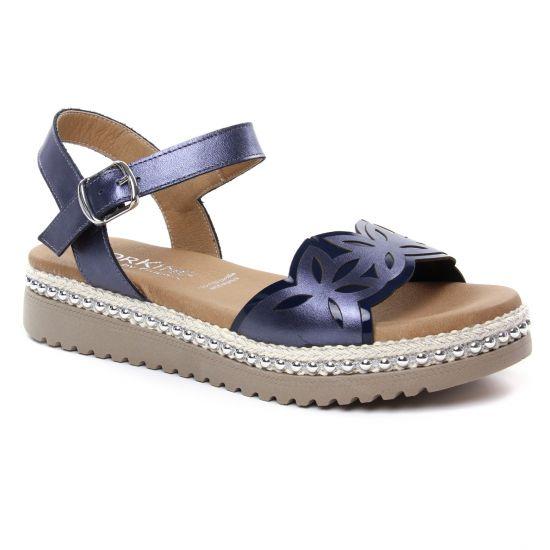 Nu Pieds Et Sandales Dorking Fresh D7778 Océan, vue principale de la chaussure femme