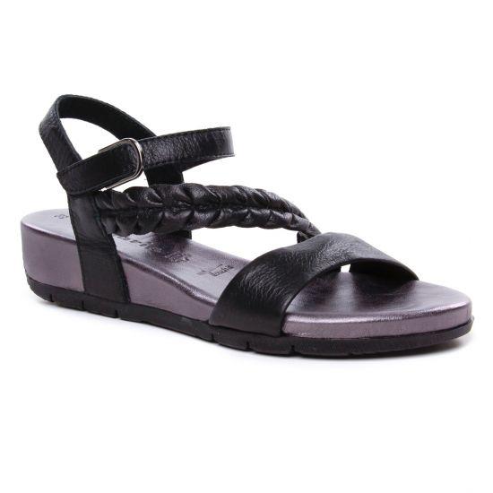 TAMARIS Boots semelle compensée à scratch Noir Femme