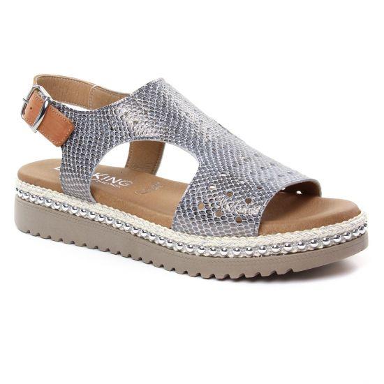 Nu Pieds Et Sandales Dorking Fresh D7777 Sand, vue principale de la chaussure femme