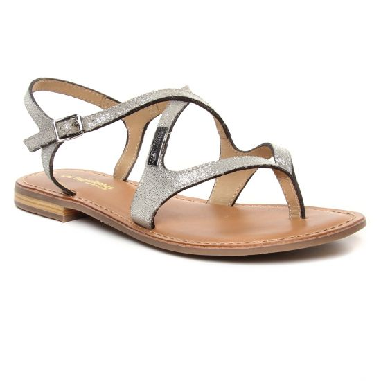 Nu Pieds Et Sandales Les Tropeziennes Hedi Argent, vue principale de la chaussure femme
