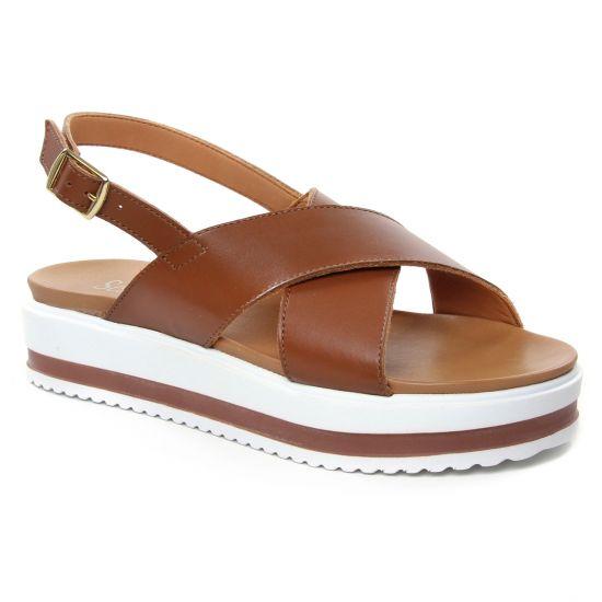 Nu Pieds Et Sandales Scarlatine 44377 A Lion, vue principale de la chaussure femme