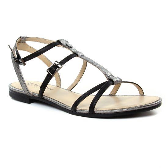 Nu Pieds Et Sandales Jb Martin 2 Griottes Noir, vue principale de la chaussure femme