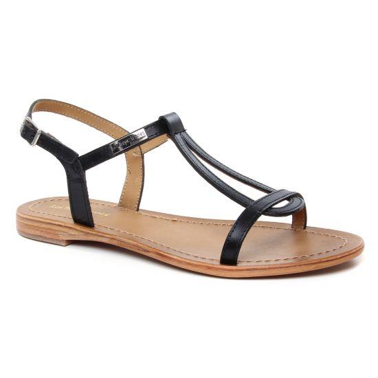 Nu Pieds Et Sandales Les Tropeziennes Hamess Noir, vue principale de la chaussure femme