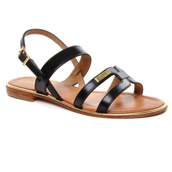Nu Pieds Et Sandales Les Tropeziennes Helina Noir, vue principale de la chaussure femme