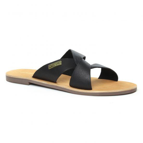 Nu Pieds Et Sandales Les Tropeziennes Placide Noir, vue principale de la chaussure femme