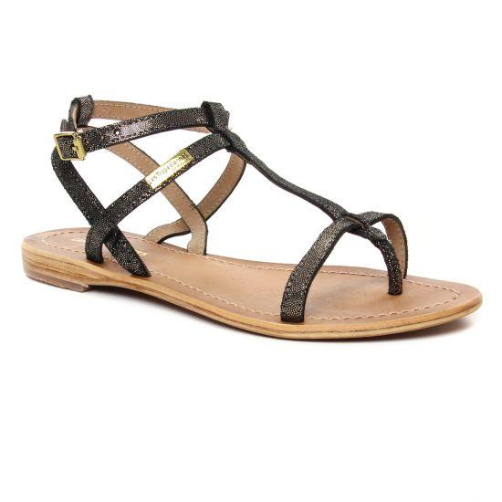 Nu Pieds Et Sandales Les Tropeziennes Hilan Noir Irise, vue principale de la chaussure femme