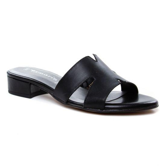 Nu Pieds Et Sandales Tamaris 27123 Black, vue principale de la chaussure femme