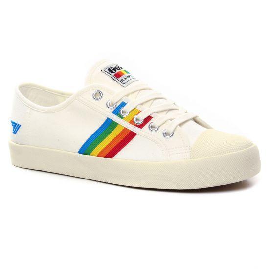 Tennis Et Baskets Mode Gola Coaster White, vue principale de la chaussure femme